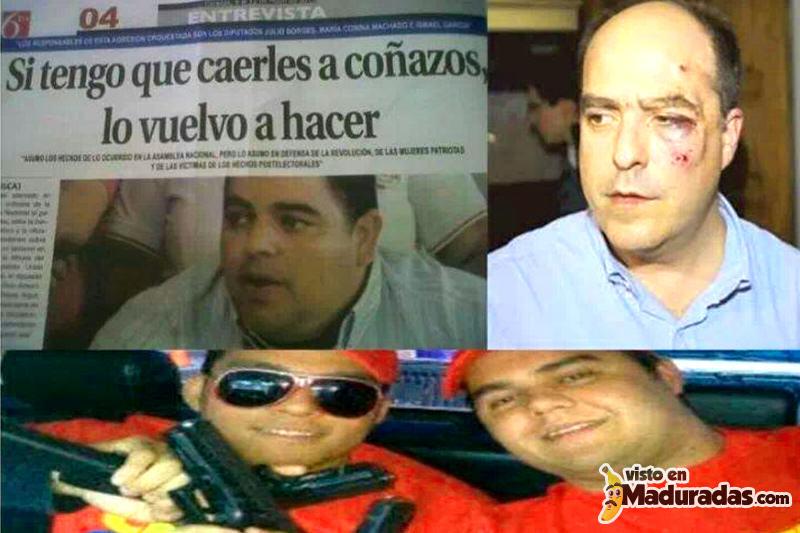 Violencia en Venezuela diputados