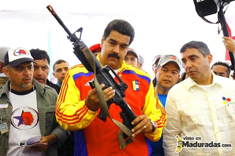 Maduro armado.