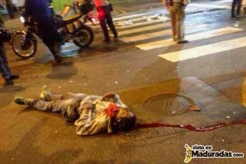muere otro estudiante en protesta en chacao