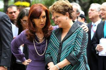 Cristina y Dilma