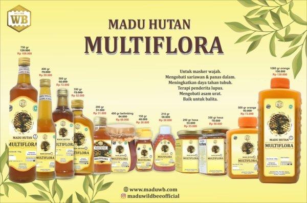 madu multiflora wild bee