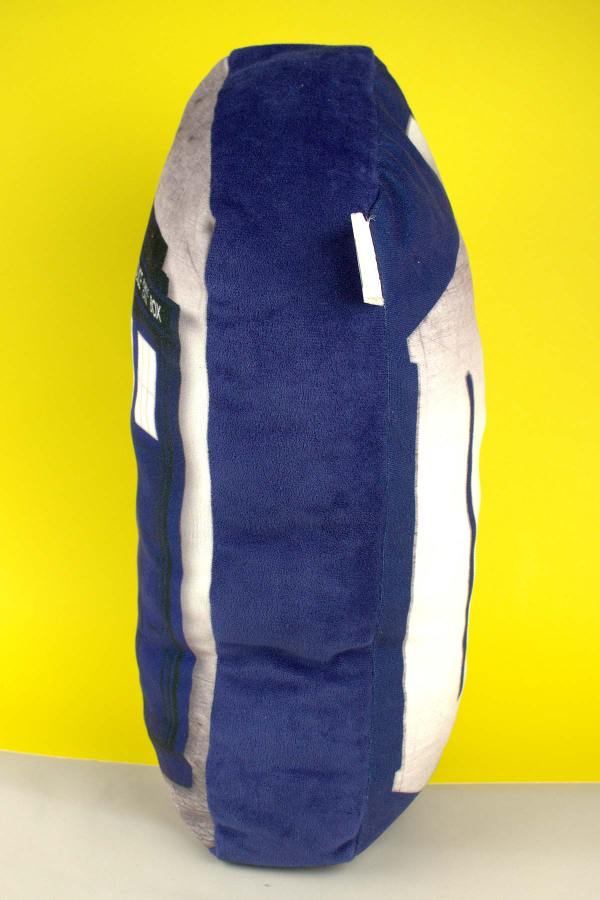 Coussin Doctor Who TARDIS 18″