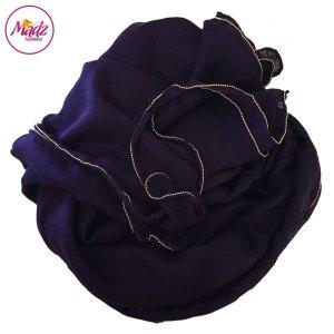 Madz Fashionz UK: Long Maxi Plain Luxury Cotton Pellet Purple Muslim Hijabs Scarves Shawls
