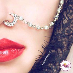 Madz Fashionz USA: Fatihasworld Bridal Indian Nose Ring Nath Bullaku Nathu