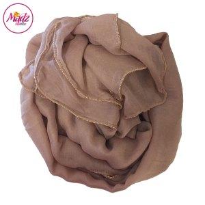 Madz Fashionz UK: Long Maxi Plain Luxury Cotton Pellet Nude Muslim Hijabs Scarves Shawls