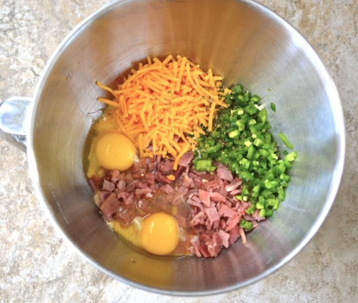 Country Ham & Jalapeño Puffs
