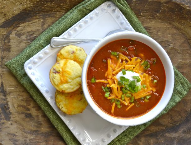 Hearty Beef Chili, perfect for cold days!