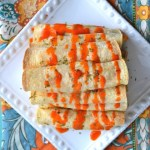 Buffalo Chicken Taquitos