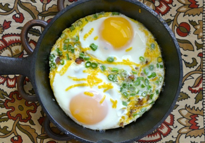 Baked Eggs for One