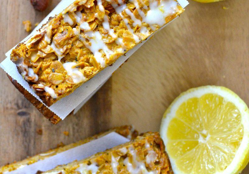Lemon Poppy Seed Granola Bar