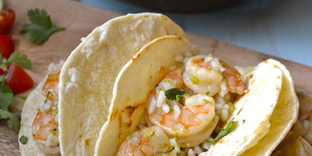 Cilantro Lime Shrimp and Rice
