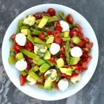 Asparagus, Avocado, and Tomato Salad