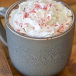 Slow Cooker Peppermint Mocha Hot Cocoa (low carb options)