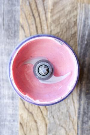Raspberry Dark Chocolate Chunk Frozen Yogurt #MullerMoment #ad