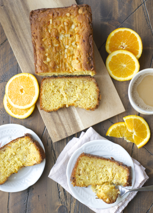 White Chocolate and Macadamia Nut Orange Bread
