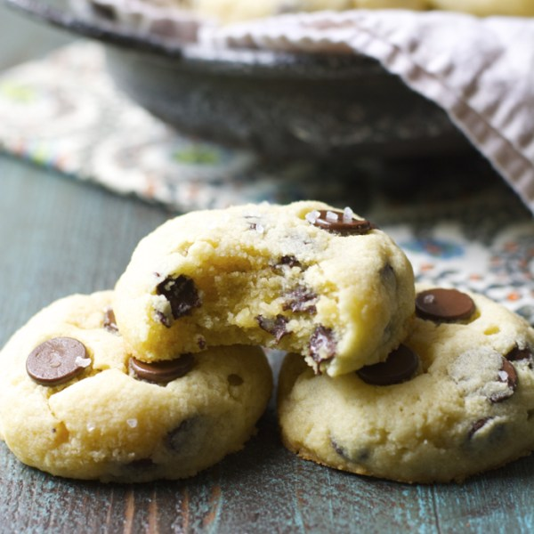 Soft and Chewy Chocolate Chip Cookies! Totally gluten free!