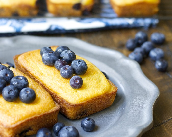 Blueberry Cornmeal Bread