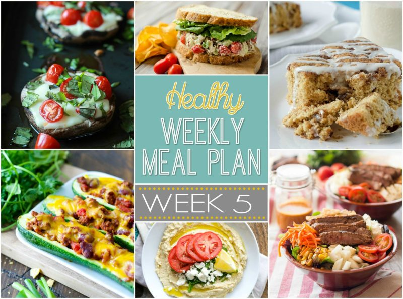 A weeks worth of totally healthy meals! Planned just for you!