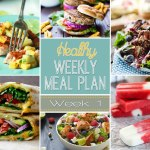 Healthy Meal Plan: Week One