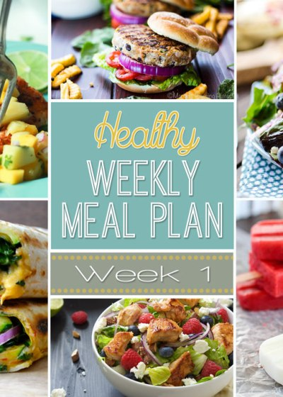 Healthy Meal Plans! A weeks worth of totally delicious and healthy meals!