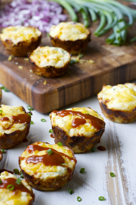 BBQ Chicken Puffs! Packed with shredded chicken, smoked gouda and tangy BBQ sauce! Gluten free!