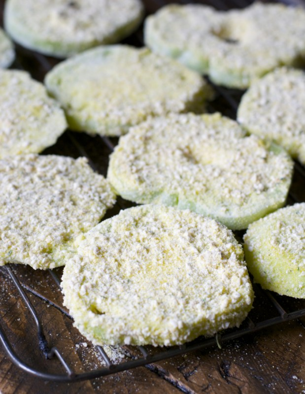 Fried Green Tomatoes! Ultra crispy and totally delicious! A Southern Classic!