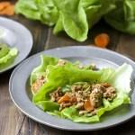 Sesame Tuna Lettuce Wraps