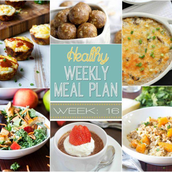 Healthy Meal Plan Week 16