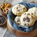 Dark Chocolate Chunk Salted Pretzel Cookies