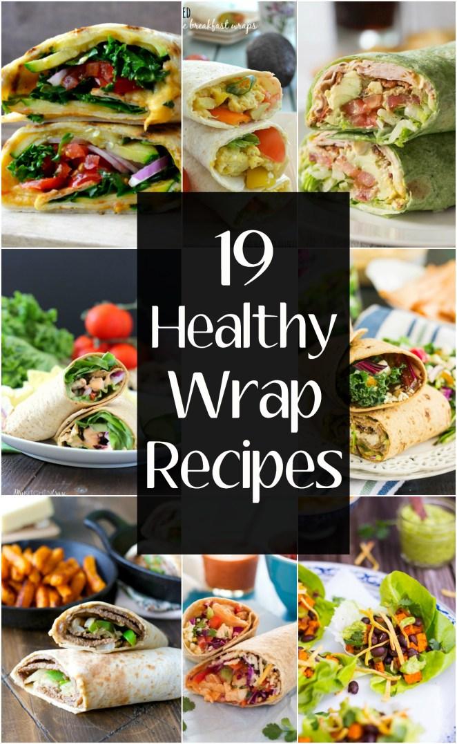 Easy Healthy Wrap Recipes Maebells