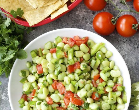 Lima Bean Salsa