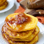 Sweet Potato Bacon Pancakes