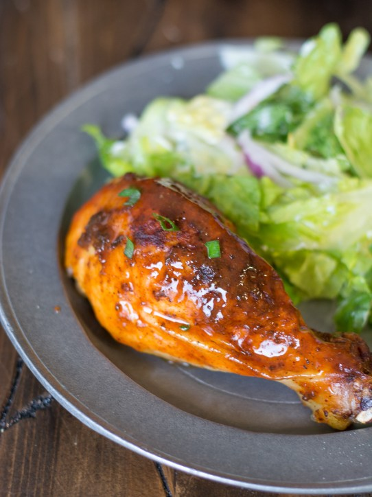 This Buffalo Cheddar Roast Chicken is packed with flavor and makes an easy and delicious dinner! Try this spicy twist on a classic!