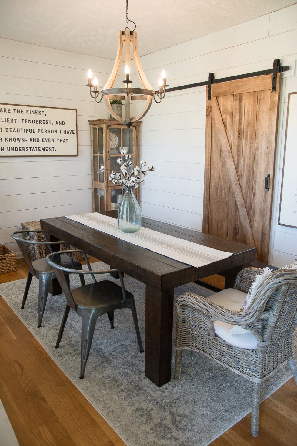 Diy Farmhouse Dining Room Maebells