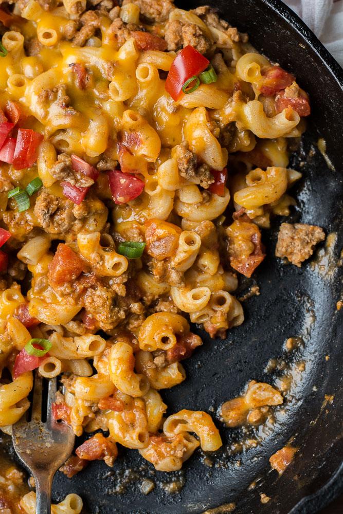 Easy Taco Mac (gluten free + one pan)