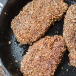 Pecan Crusted Pork Chops (Keto + low carb)