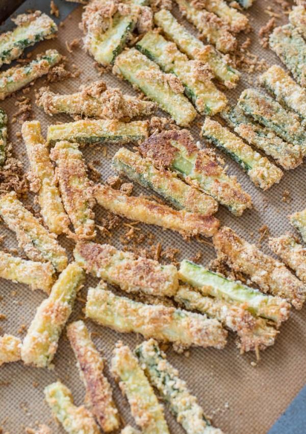 Keto Zucchini Fries