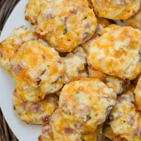 Keto Ham and Cheese Bites