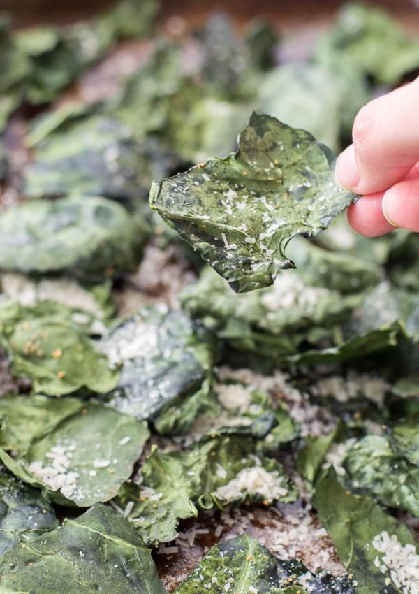 Italian Herb Kale Chips