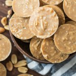 Keto No Bake Peanut Butter Cookies