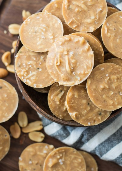 These Keto No Bake Peanut Butter Cookies are just one net carb each and can be made with just 10 minutes of prep! This is the ultimate easy low carb keto dessert!