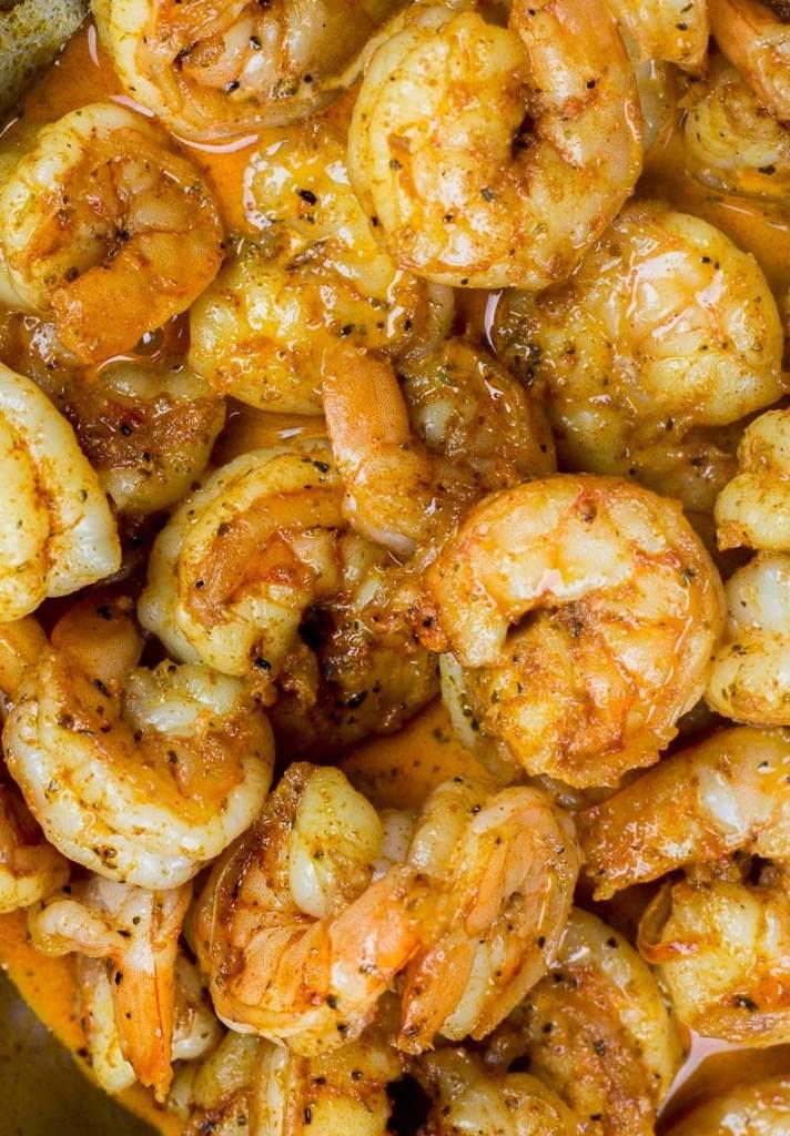 Keto Cajun Shrimp (one pan + 20 minutes)