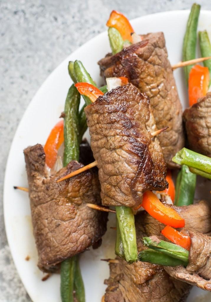 Easy Keto Steak Wraps