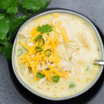 Keto White Chicken Chili (Instant Pot and Slow Cooker)