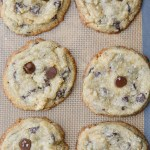 Keto Chocolate Chip Cookies (about 1 net carb)