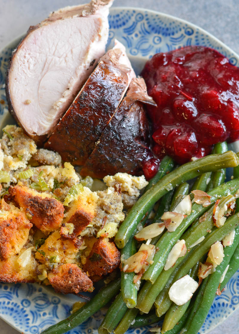 ThisSmoked Whole Turkey recipe is stuffed andcoated in a homemade spice rub, then slow smoked to tender and juicy perfection.