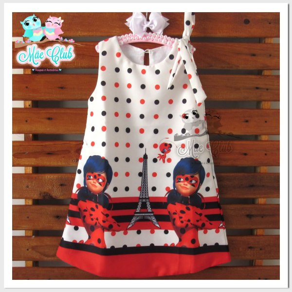 Vestido LadyBug
