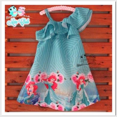 Vestido Pequena Sereia