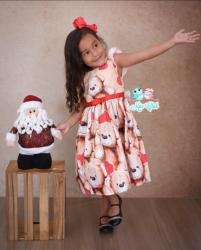 Vestido Natalino Infantil (COD 27.10.19.03)