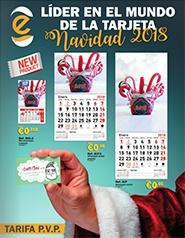 Lider en el mundo de la tarjeta - Navidad 2018
